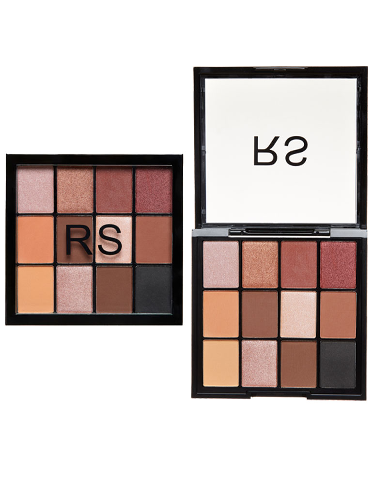 12 SHADES EYESHADOW PALETTE No. 1